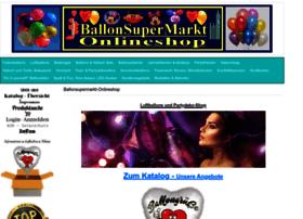 Ballonsupermarkt-onlineshop.de thumbnail
