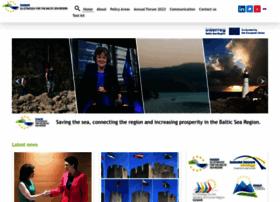 Balticsea-region-strategy.eu thumbnail