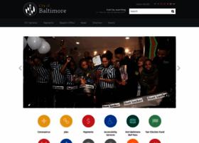 Baltimorecity.gov thumbnail