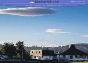 Banchorygolfclub.co.uk thumbnail