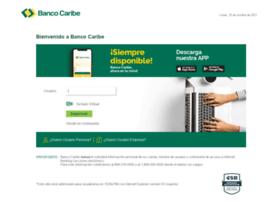 Bancocaribeenlinea.com.do thumbnail