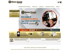 Bancocaroni.com.ve thumbnail