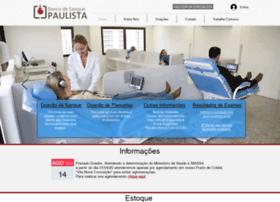 Bancodesanguepaulista.com.br thumbnail