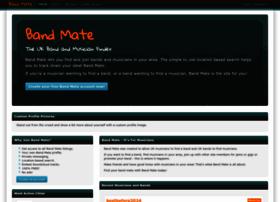 Band-mate.co.uk thumbnail
