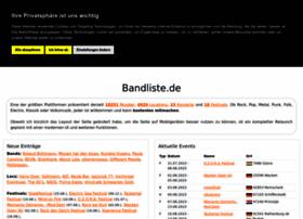 Bandliste.de thumbnail