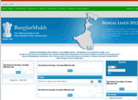 Banglarmukh.gov.in thumbnail