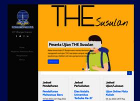 Banjarmasin.ut.ac.id thumbnail