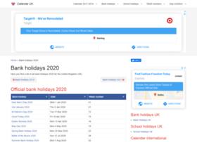 Bankholidays-2018.co.uk thumbnail