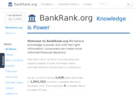 Bankrank.org thumbnail