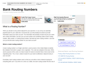 how to find aba number