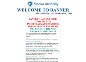 Banner.yu.edu thumbnail