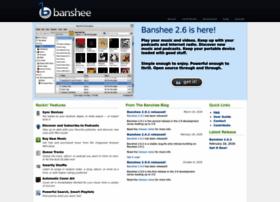 Banshee-project.org thumbnail