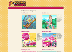 Barbie-car.goldhairgames.com thumbnail