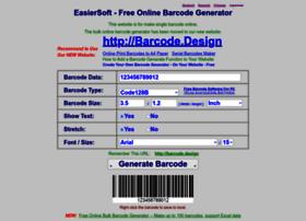 Barcodegenerator.online thumbnail