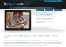 california bar exam past essays Wisdom for the california bar exam bar exam guru's blog wisdom for the california bar exam menu skip to content bar exam guru's blog blog at wordpresscom.