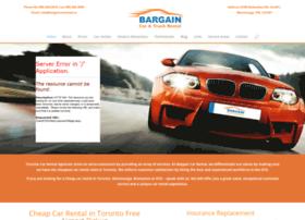 Bargaincarrental.ca thumbnail