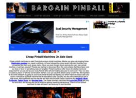 Bargainpinballmachines.com thumbnail