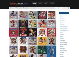 Basketballcaricaturetshirts.com thumbnail