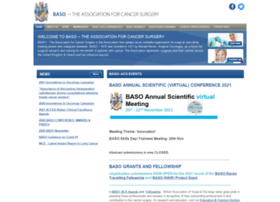 Baso.org.uk thumbnail