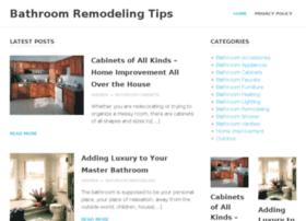 Bathroomremodelingtips.net thumbnail