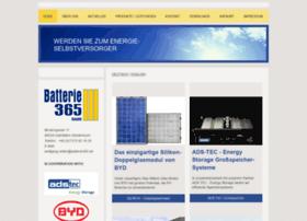 Batterie365.de thumbnail