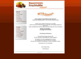 Bauermees-fruchtsaefte.de thumbnail