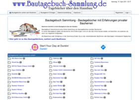 Bautagebuch-sammlung.de thumbnail