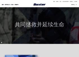 Baxter.com.cn thumbnail