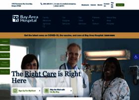 Bayareahospital.org thumbnail