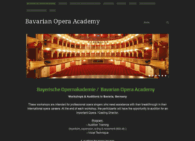 Bayerische-opernakademie.de thumbnail