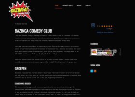 Bazingacomedyclub.nl thumbnail