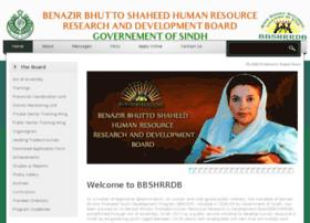 Bbsydpsindh.gov.pk thumbnail