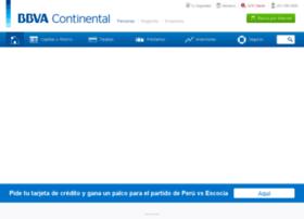 Bbvabancocontinental.com.pe thumbnail