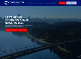 Bcconservative.ca thumbnail