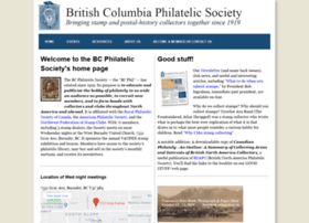 Bcphilatelic.org thumbnail
