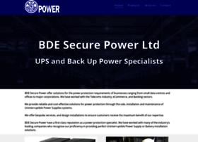 Bdesecurepower.co.uk thumbnail