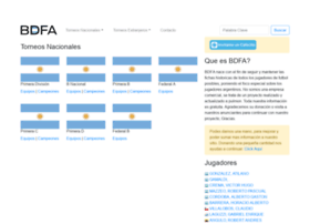 Bdfa.com.ar thumbnail
