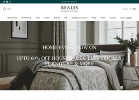 Beales.co.uk thumbnail