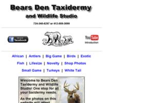 Bearsdentaxidermy.net thumbnail