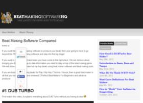 Beat-making-software.org thumbnail