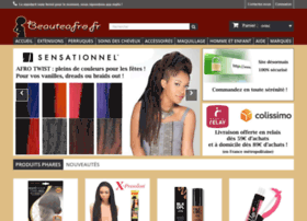 Beauteafro.fr thumbnail