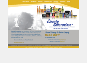Beautyenterprises.com thumbnail