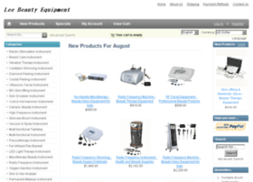 Beautyequipmentsuppliers.net thumbnail