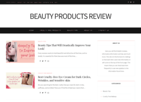 Beautyproductsreview.net thumbnail