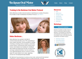 At Wi Beckman Oral Motor Home Page