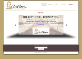Beethovenfoundation.com thumbnail