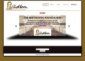 Beethovenfoundation.com thumbnail