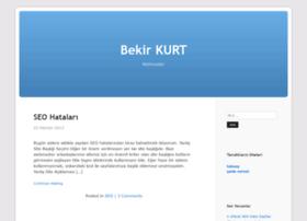 Bekirkurt.com.tr thumbnail