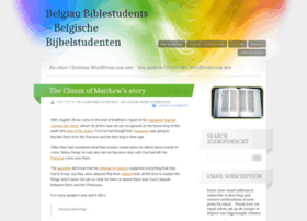 Belgianbiblestudents.wordpress.com thumbnail