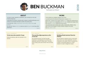 Benbuckman.net thumbnail